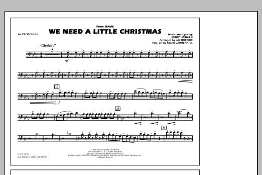 we need a little christmas 1st trombone