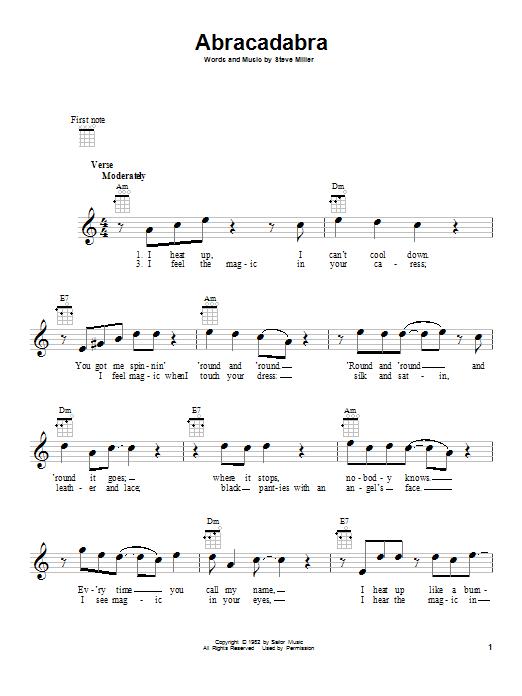 Steve Miller Band: Abracadabra