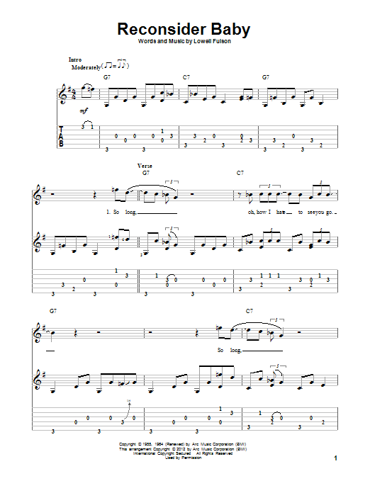 Sheet Music Digital Files To Print - Licensed Eric Clapton Digital ...