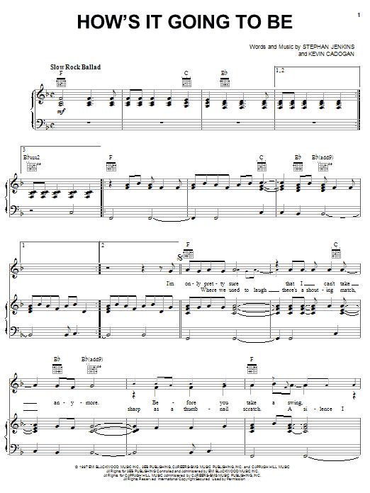 Sheet Music Digital Files To Print - Licensed Third Eye Blind ...