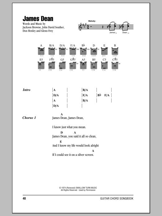 Sheet Music Digital Files To Print - Licensed Jackson Browne Digital ...