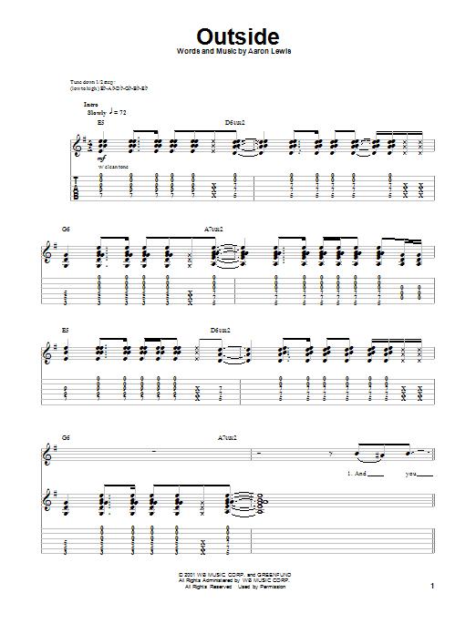 Sheet Music Digital Files To Print Licensed Aaron Lewis Digital