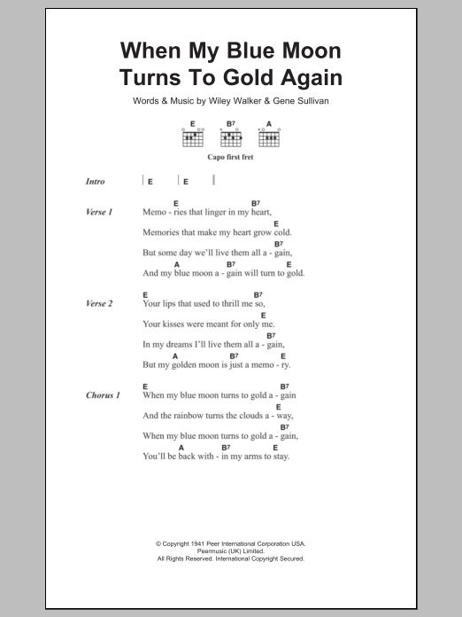 Frank Sinatra – Blue Moon Lyrics | Genius Lyrics