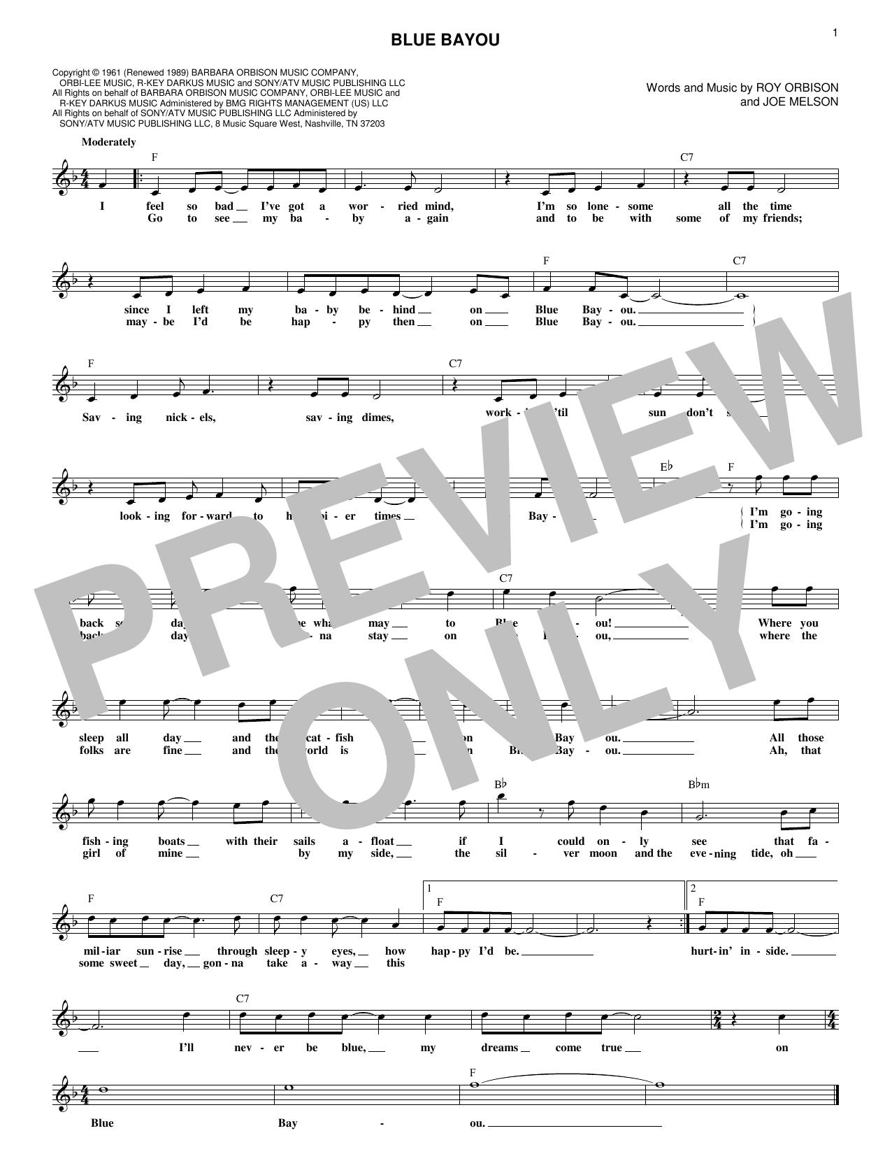Sheet Music Digital Files To Print Licensed Roy Orbison Digital