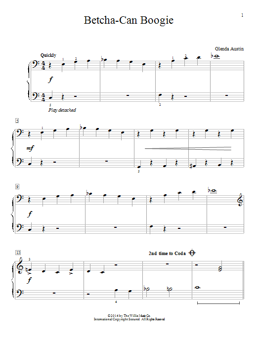 Composer's Choice - Glenda Austin - Mid to Later Elementary Level by Glenda Austin