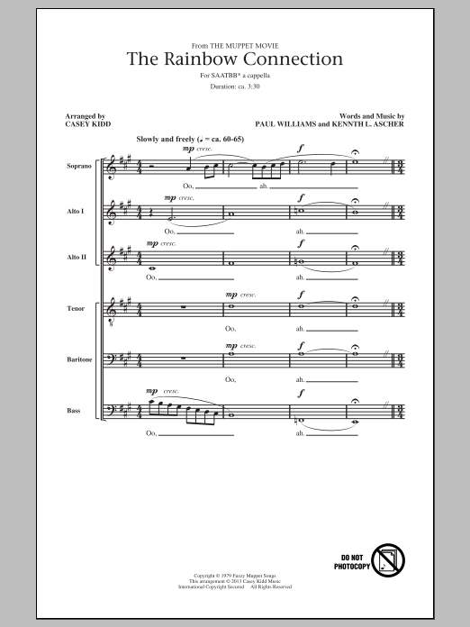 Sheet Music Digital Files To Print - Licensed Kenneth L. Ascher ...