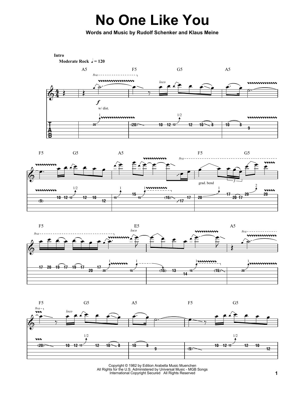 Sheet music digital files to print licensed scorpions digital sheet music digital by merriam music hexwebz Gallery