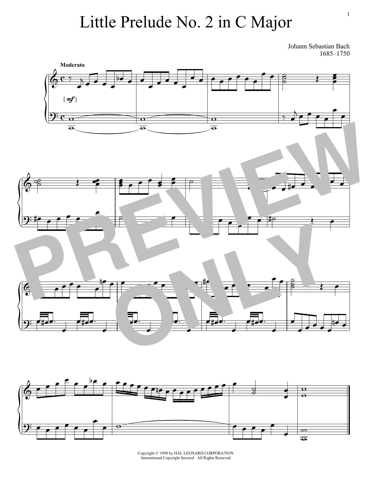 Little Prelude No. 2 in C Major
