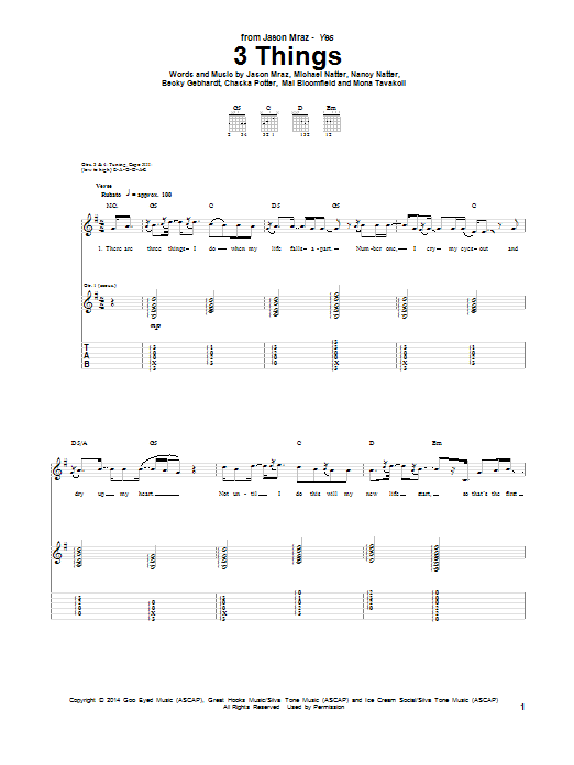 Sheet Music Digital Files To Print Licensed Jason Mraz Digital