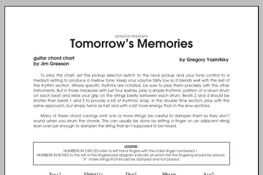 Unique Memories Guitar Chords Model Beginner Guitar Piano Chords