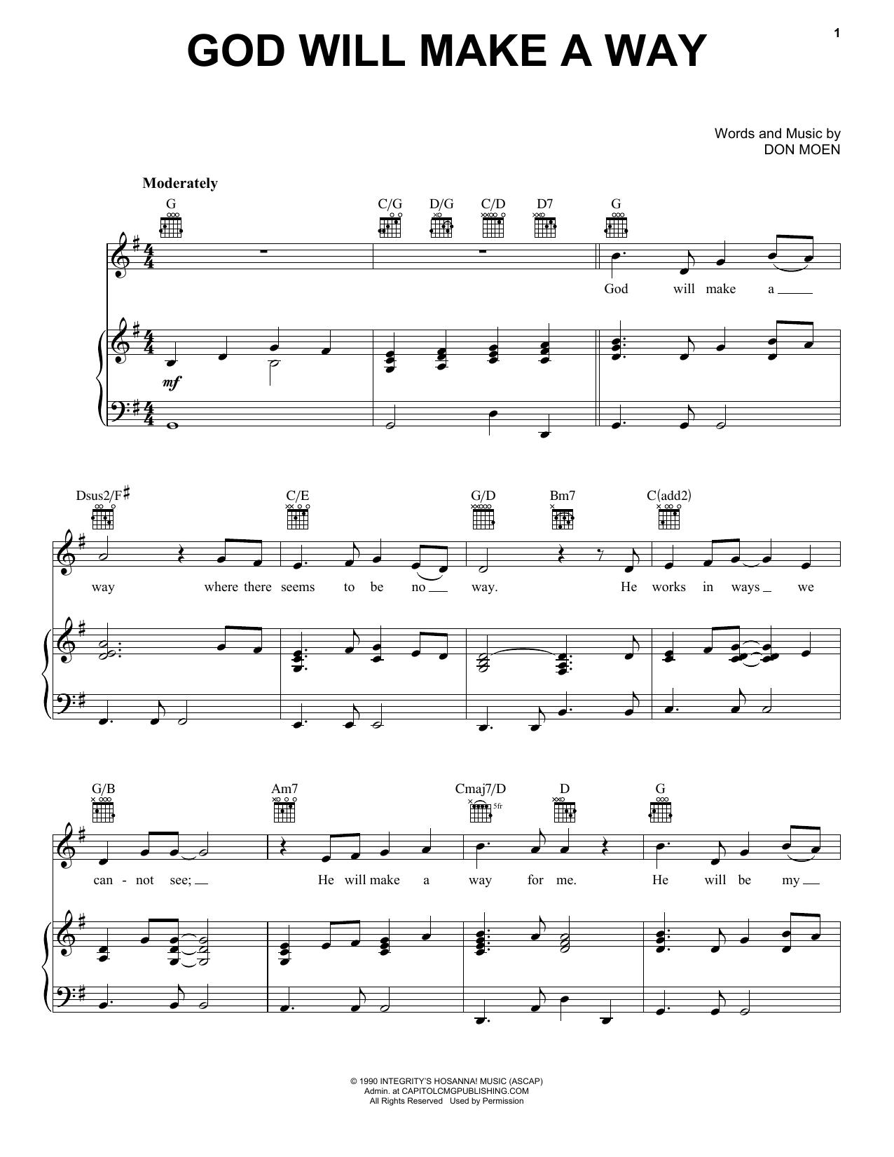 Sheet Music Digital Files To Print Licensed Don Moen Digital Sheet