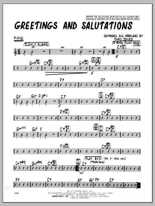 Greetings and salutations greetings and salutations piano m4hsunfo