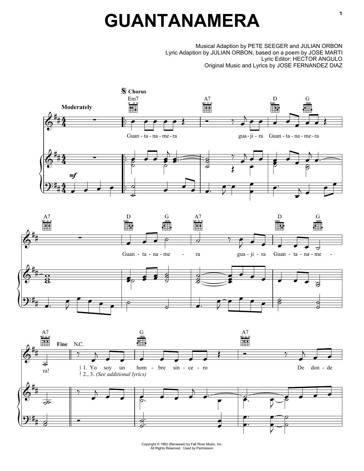 Sheet Music Digital Files To Print Licensed Pete Seeger Digital