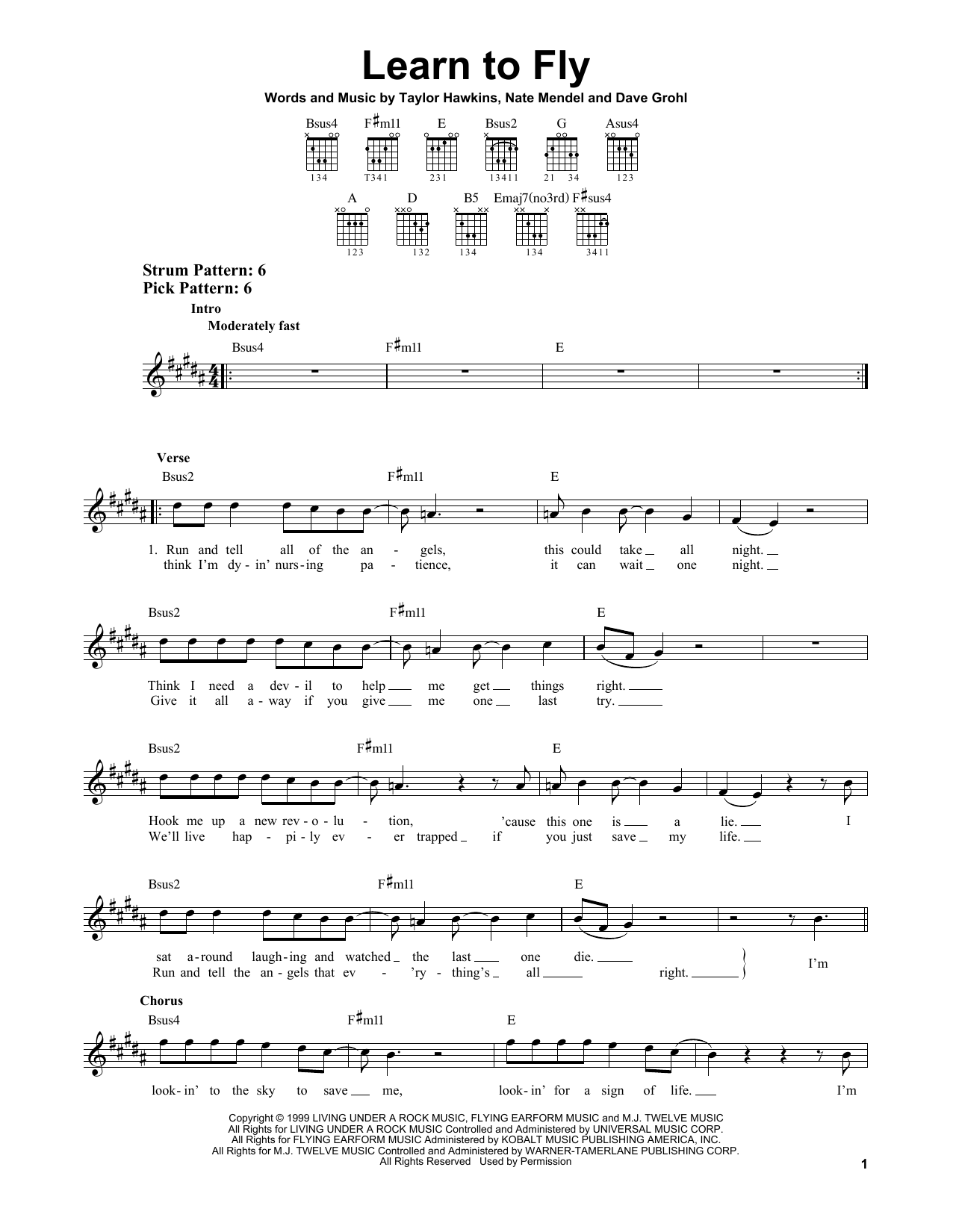 Foo Fighters - Learn to Fly - Guitar Lessons - How to play ...