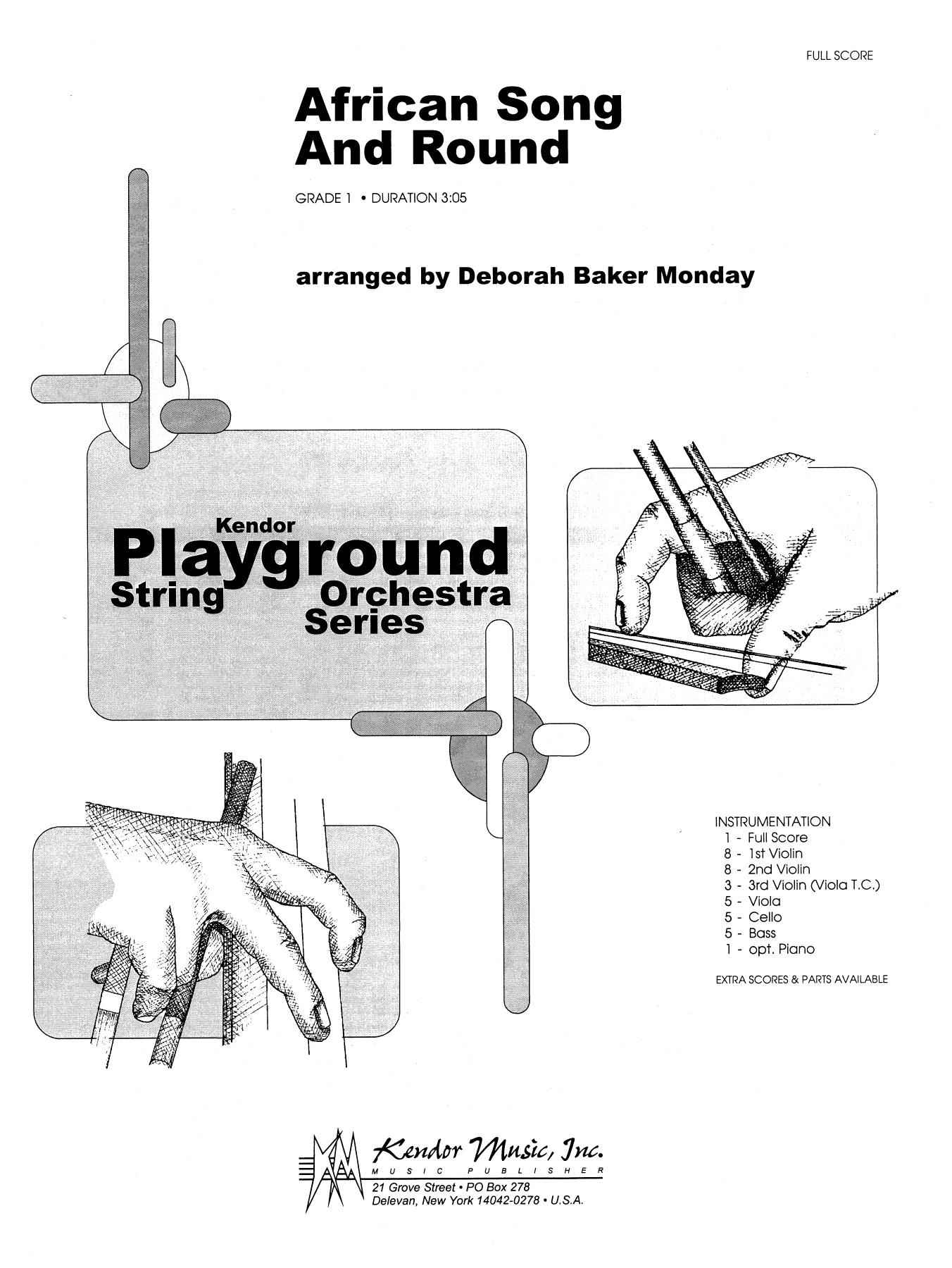 Sheet Music Digital Files To Print Licensed Orchestra Piano Parts Diagram African Song And Round Full Score