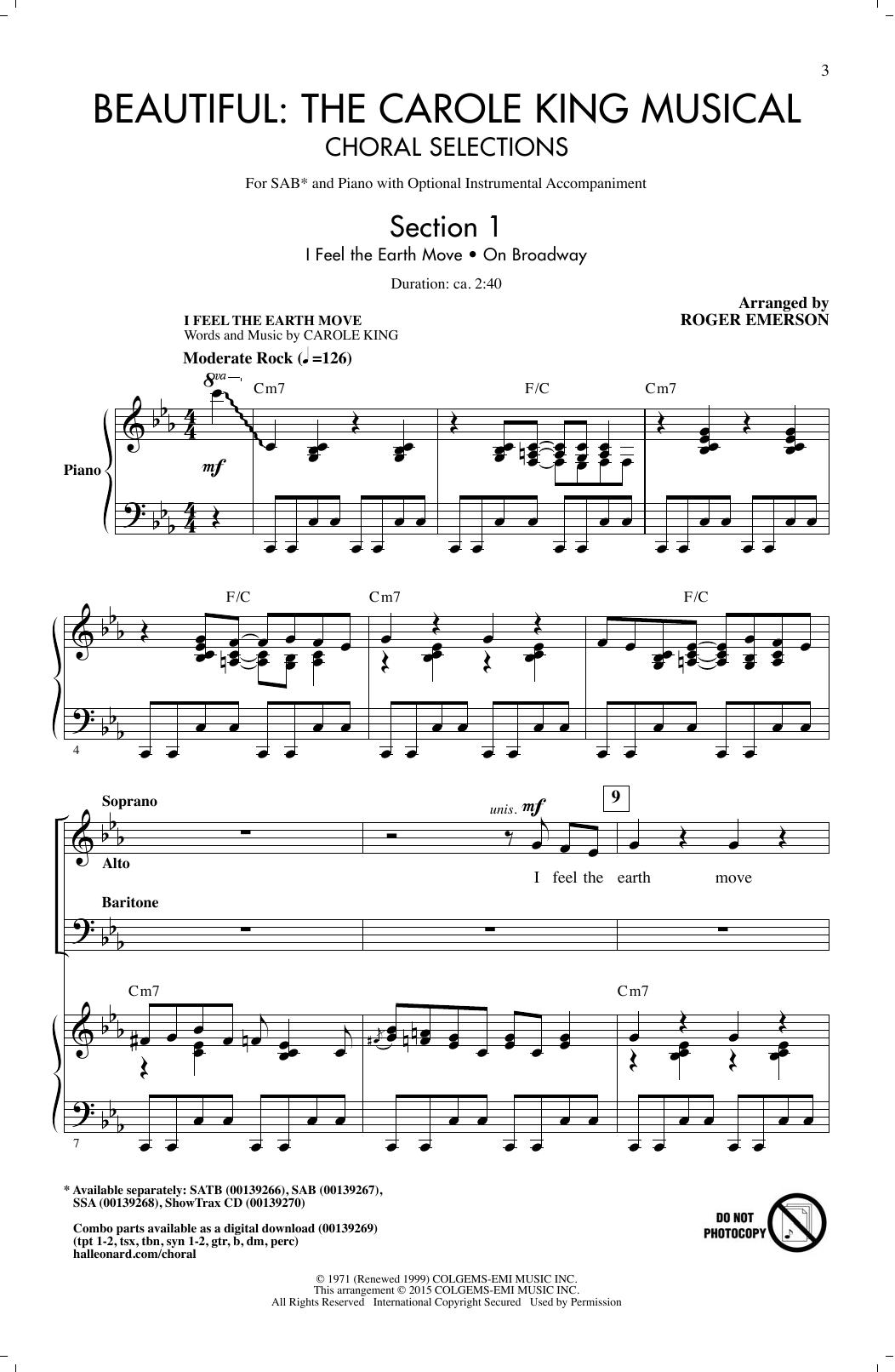 Partition chorale Beautiful de Carole King - SAB