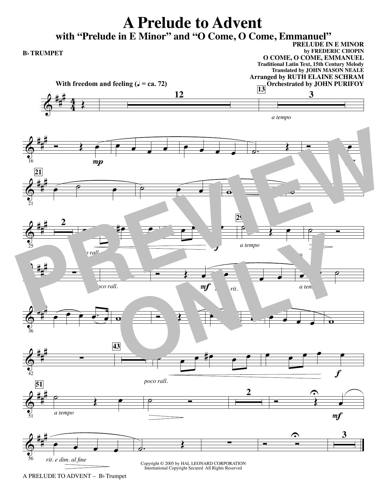 A Prelude To Advent With Prelude In E Minor And O Come O Come