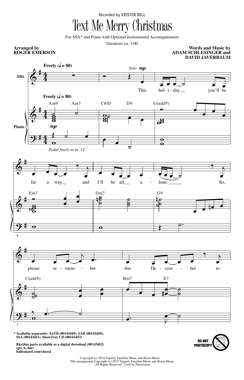 Sheet Music Digital Files To Print - Licensed Kristen Bell Digital ...