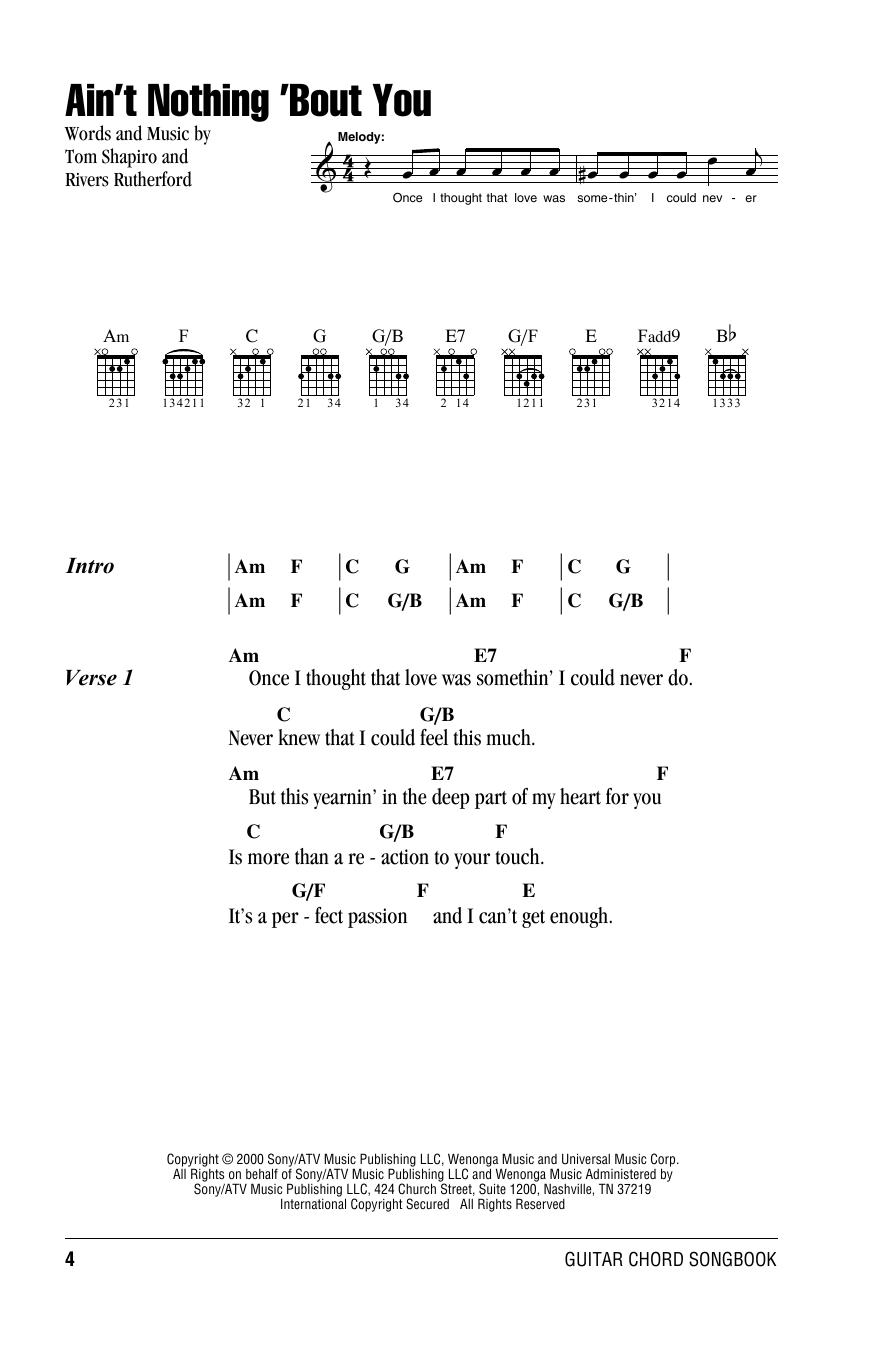 Brooks & Dunn - Ain't Nothing 'bout You Lyrics | MetroLyrics