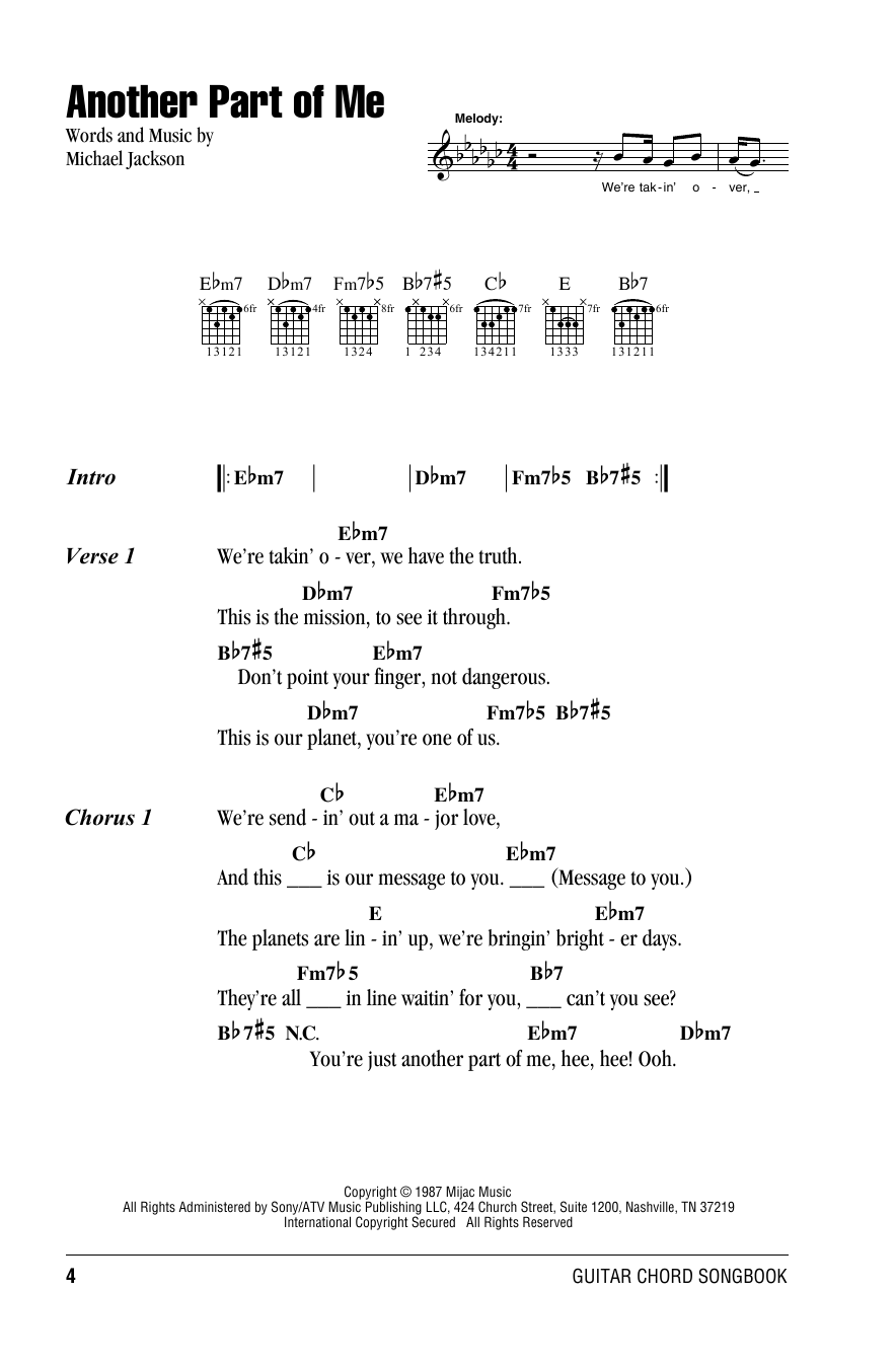 Sheet Music Digital Files To Print Licensed Michael Jackson