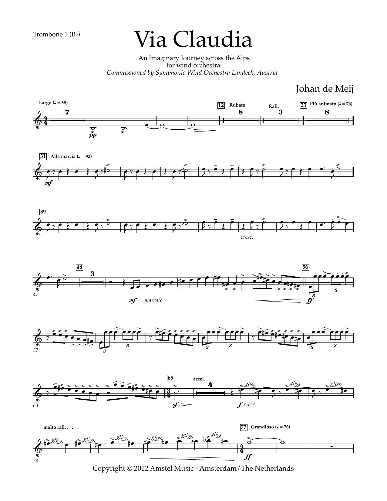 Via Claudia - Bb Trombone 1 T.C.
