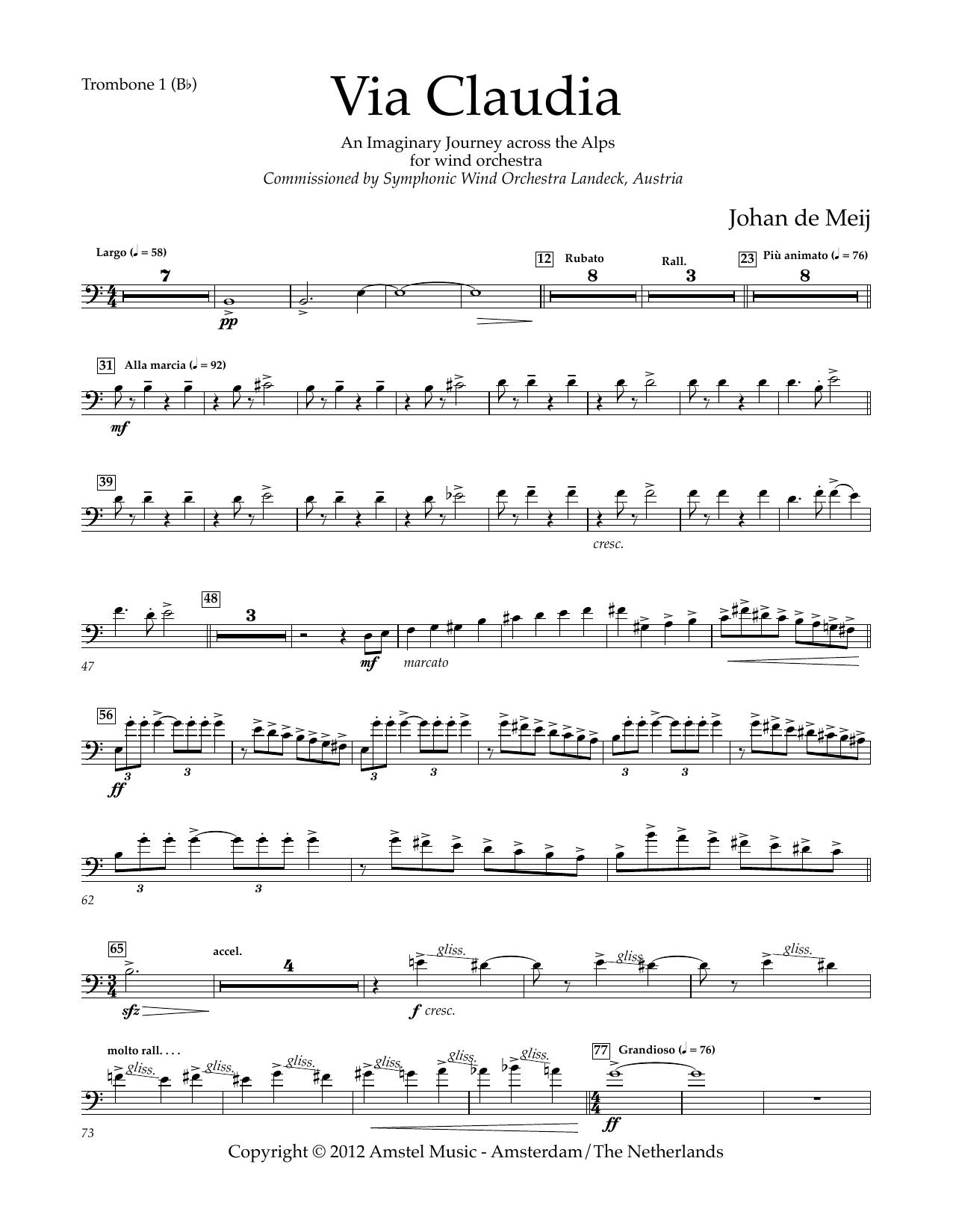 Via Claudia - Bb Trombone 1 B.C.