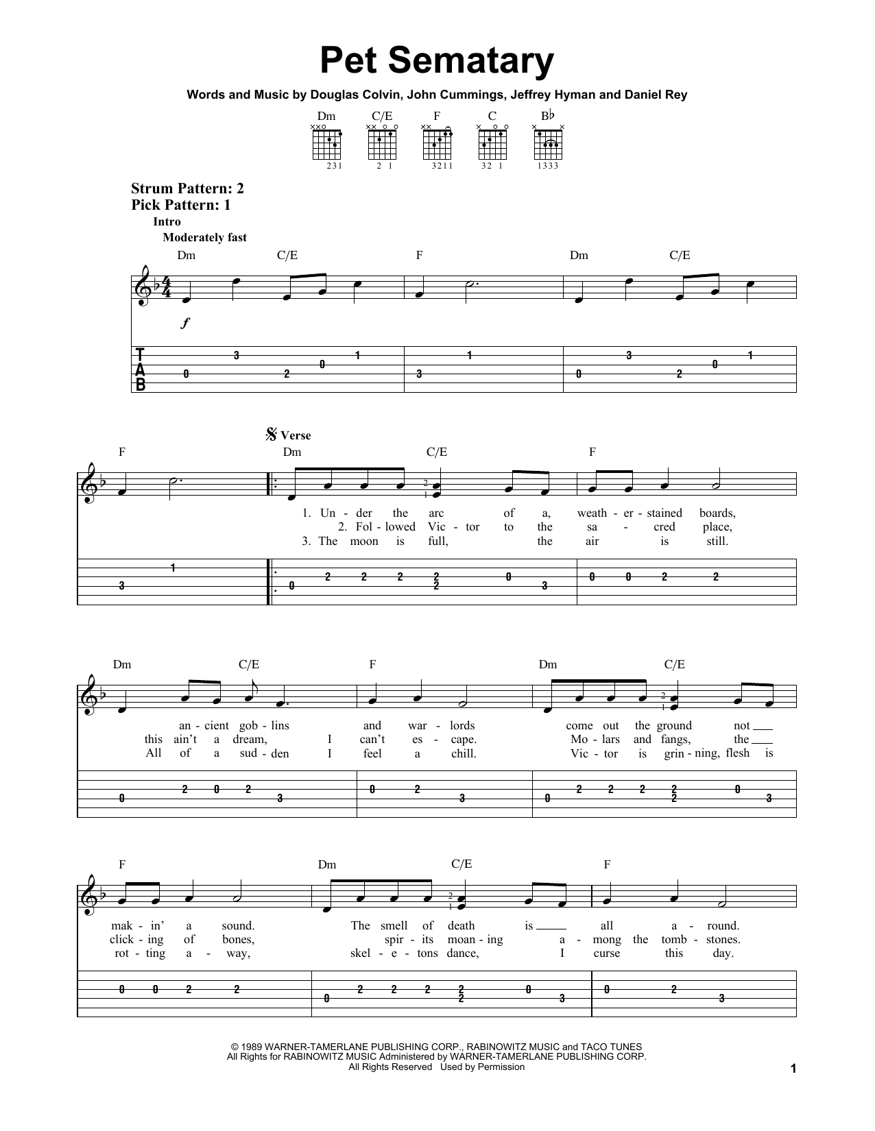 edgar winter frankenstein sheet music pdf