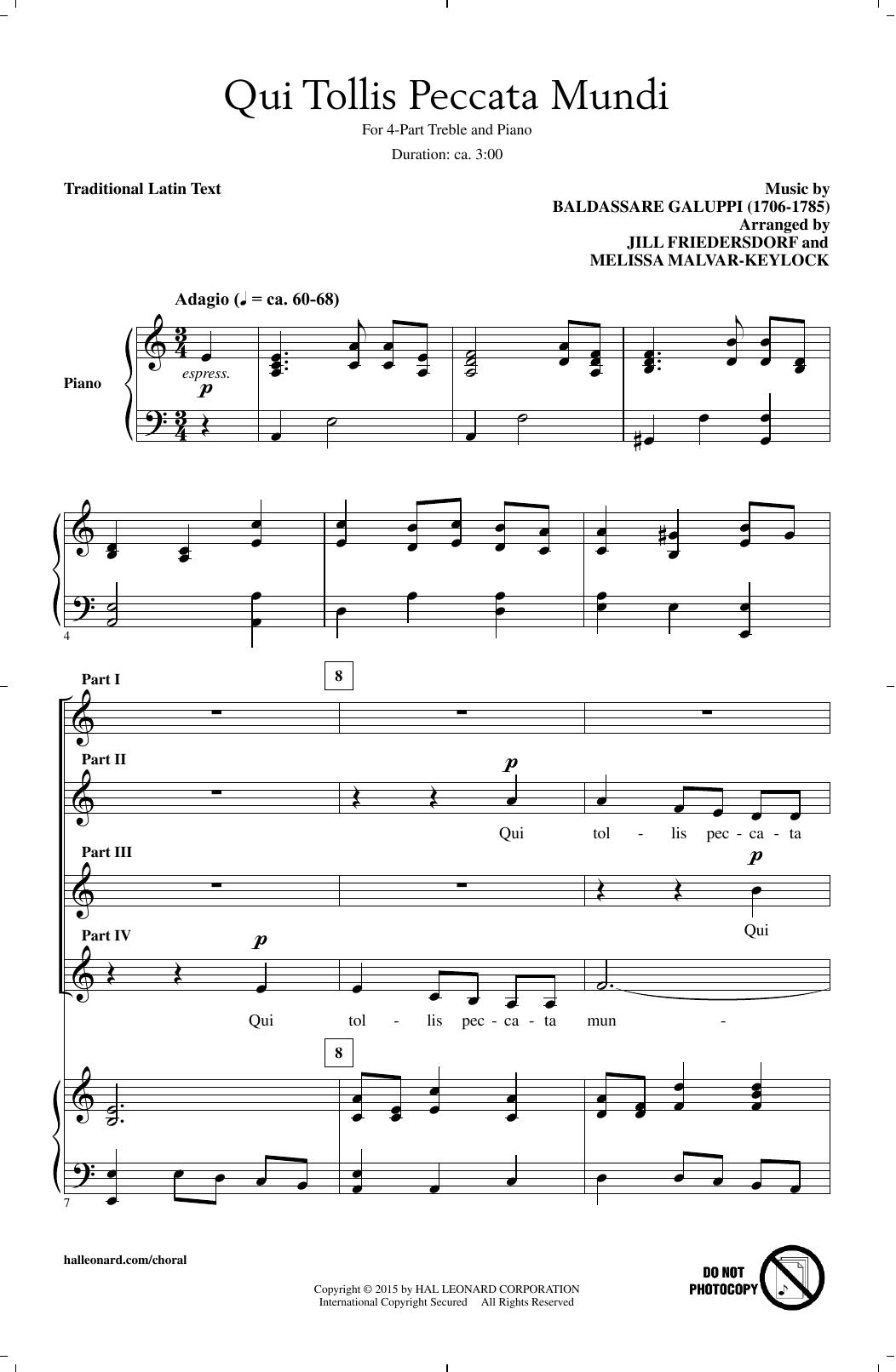 Baldassare Galuppi - Qui Tollis Peccata Mundi