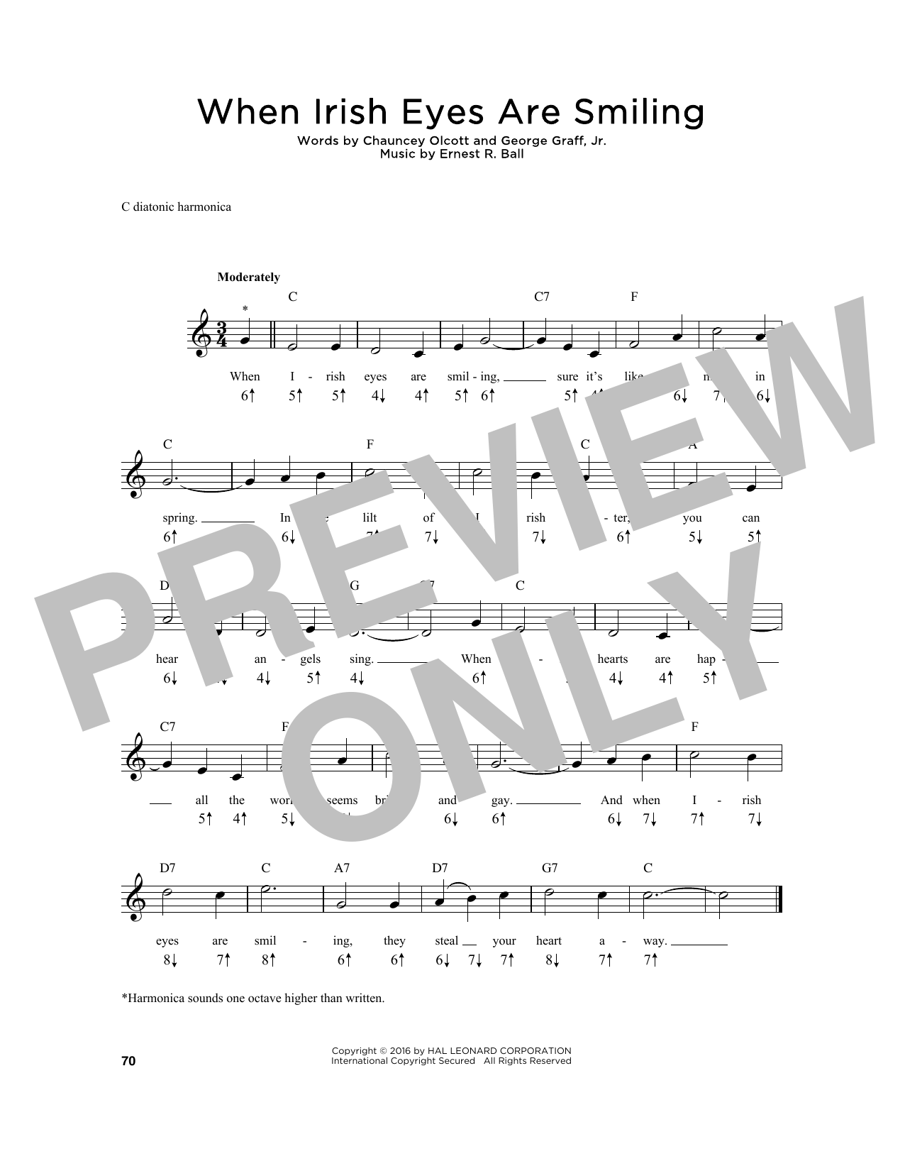 Sheet Music Digital Files To Print Licensed Chauncey Olcott