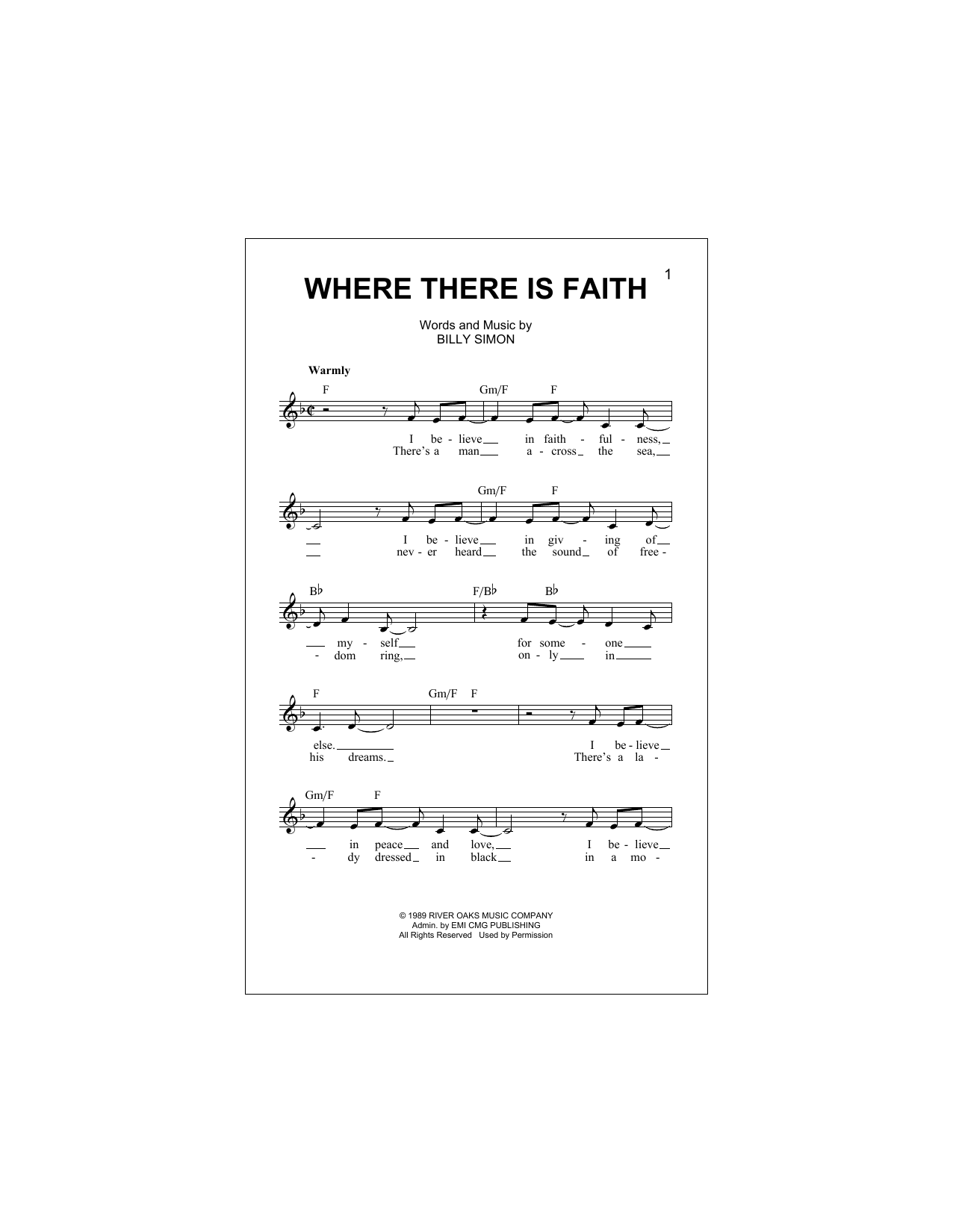4 Him - Where There Is Faith