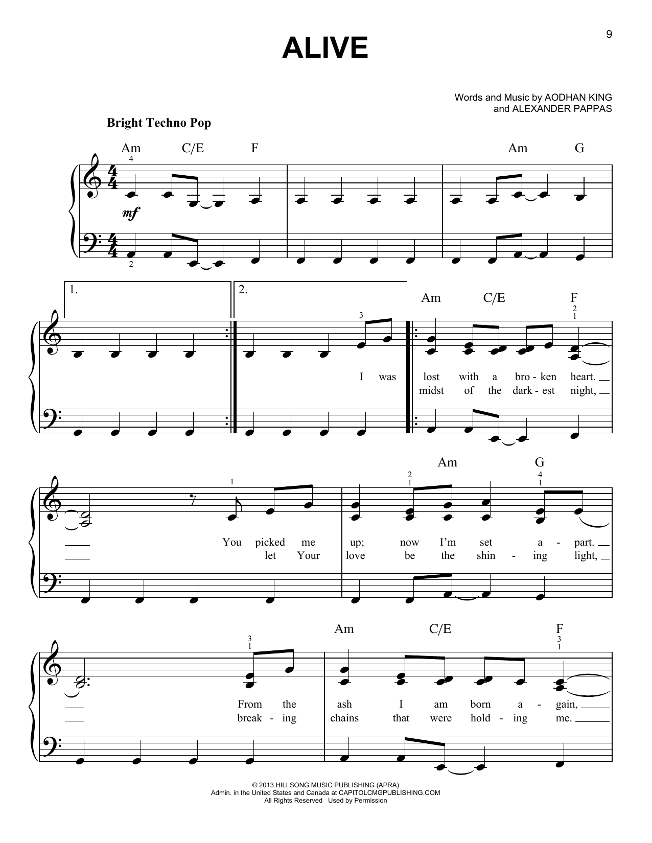 hillsong piano sheet music pdf free