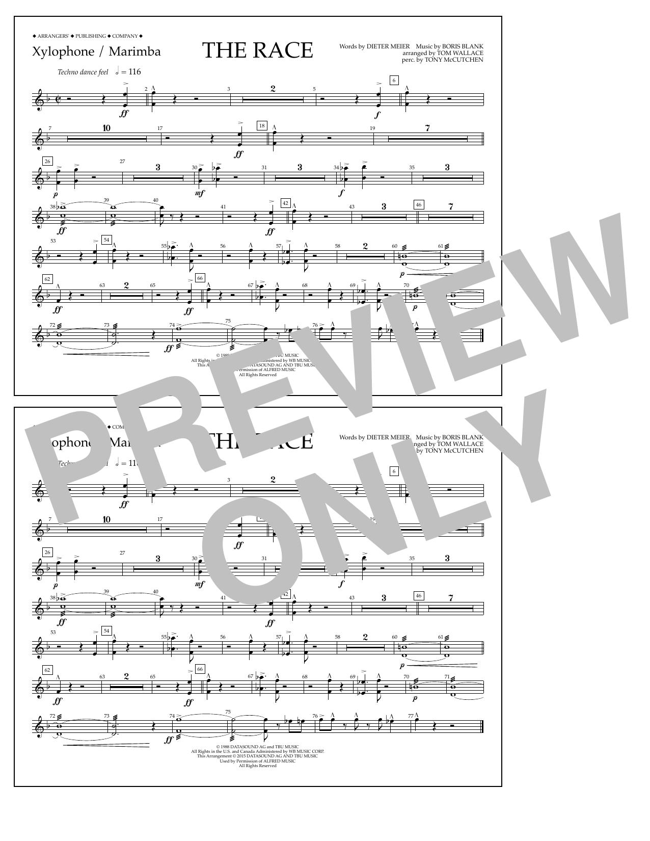 Dieter Meier - The Race - Xylophone/Marimba