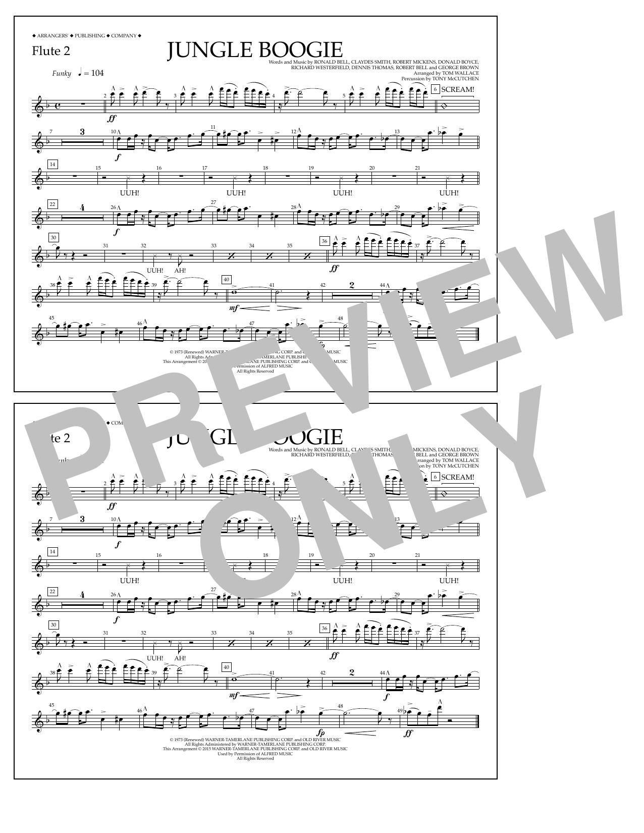 Kool & The Gang - Jungle Boogie - Flute 2
