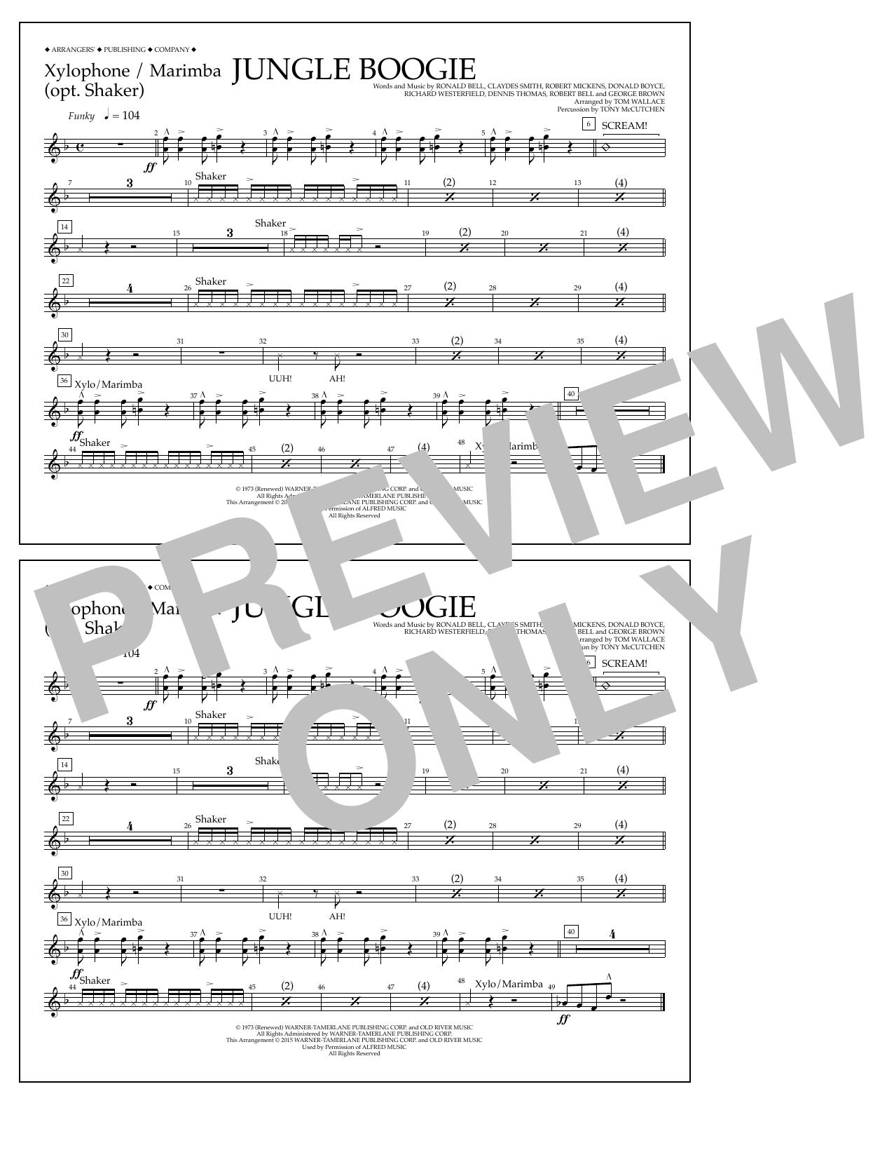 Kool & The Gang - Jungle Boogie - Xylophone/Marimba