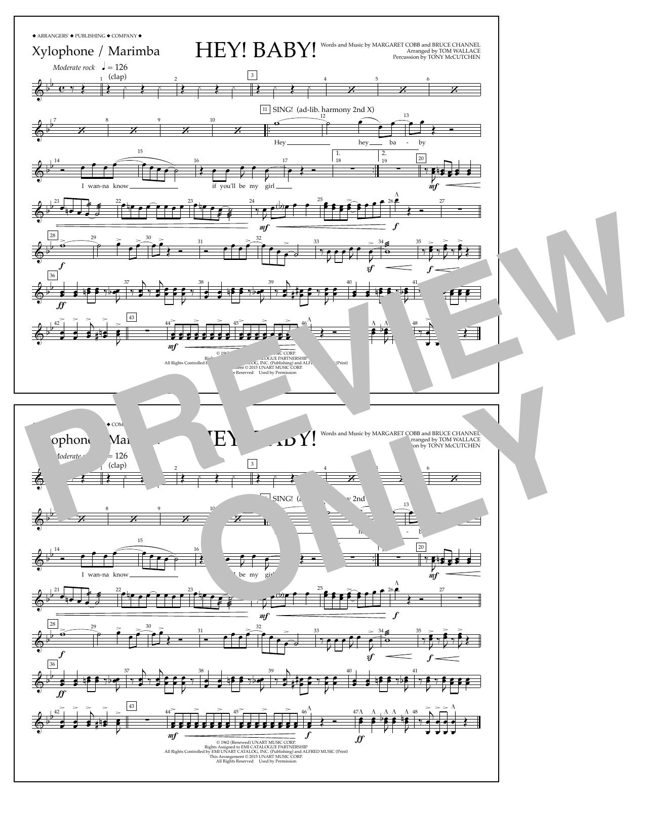 Bruce Channel - Hey! Baby! - Xylophone/Marimba