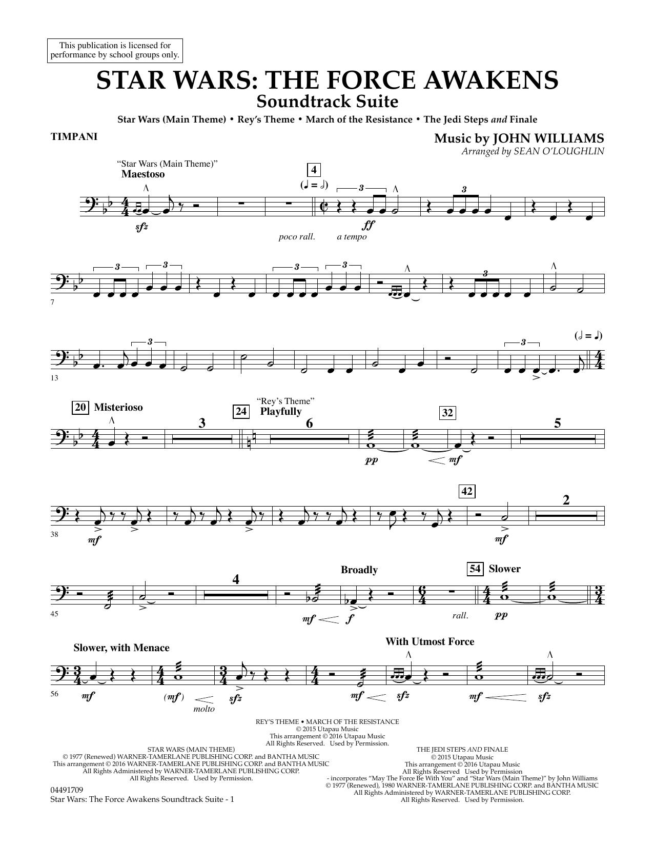 John Williams - Star Wars: The Force Awakens Soundtrack Suite - Timpani