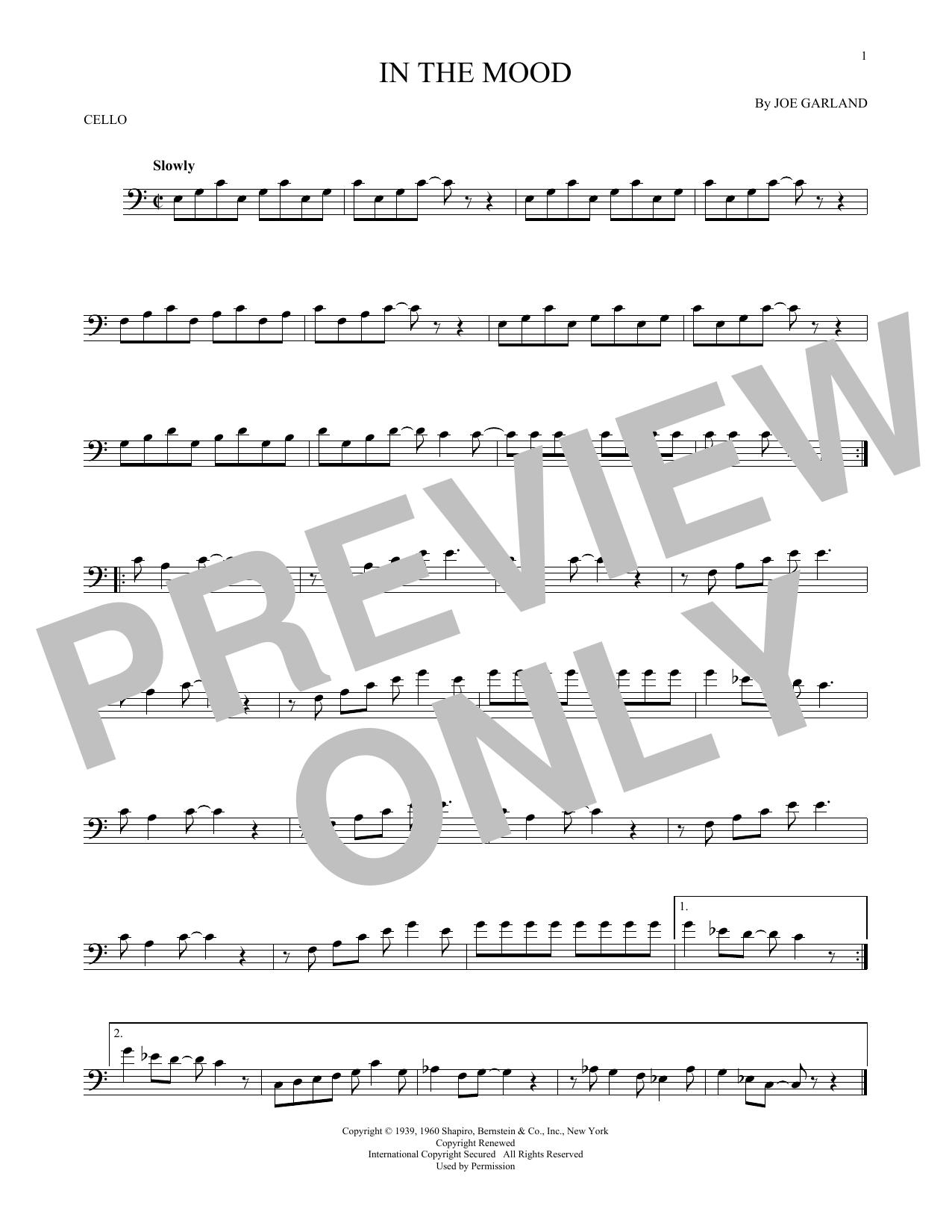 Partition autre In The Mood de Glenn Miller & His Orchestra - Autre