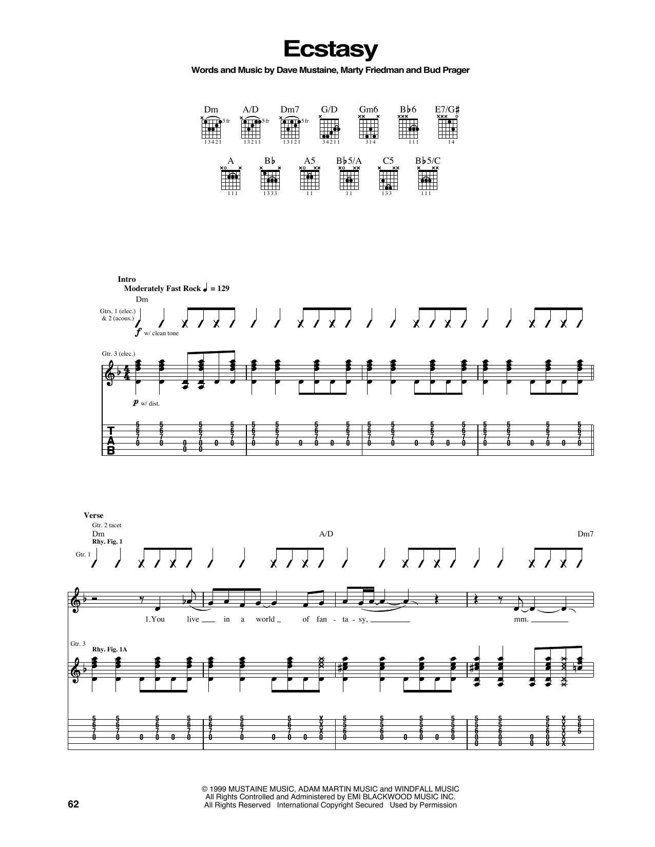 Megadeth - Ecstasy