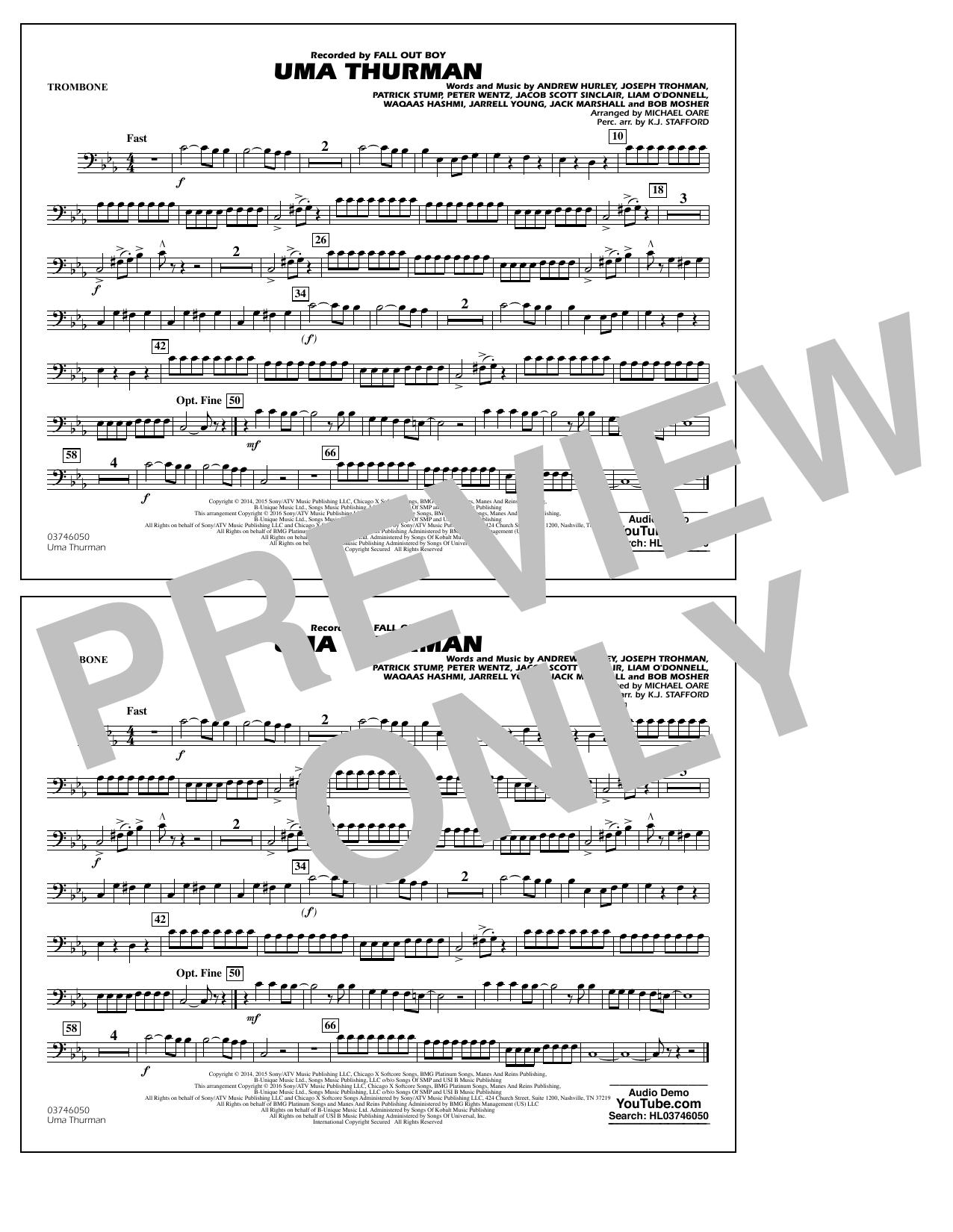 K.J. Stafford - Uma Thurman - Trombone