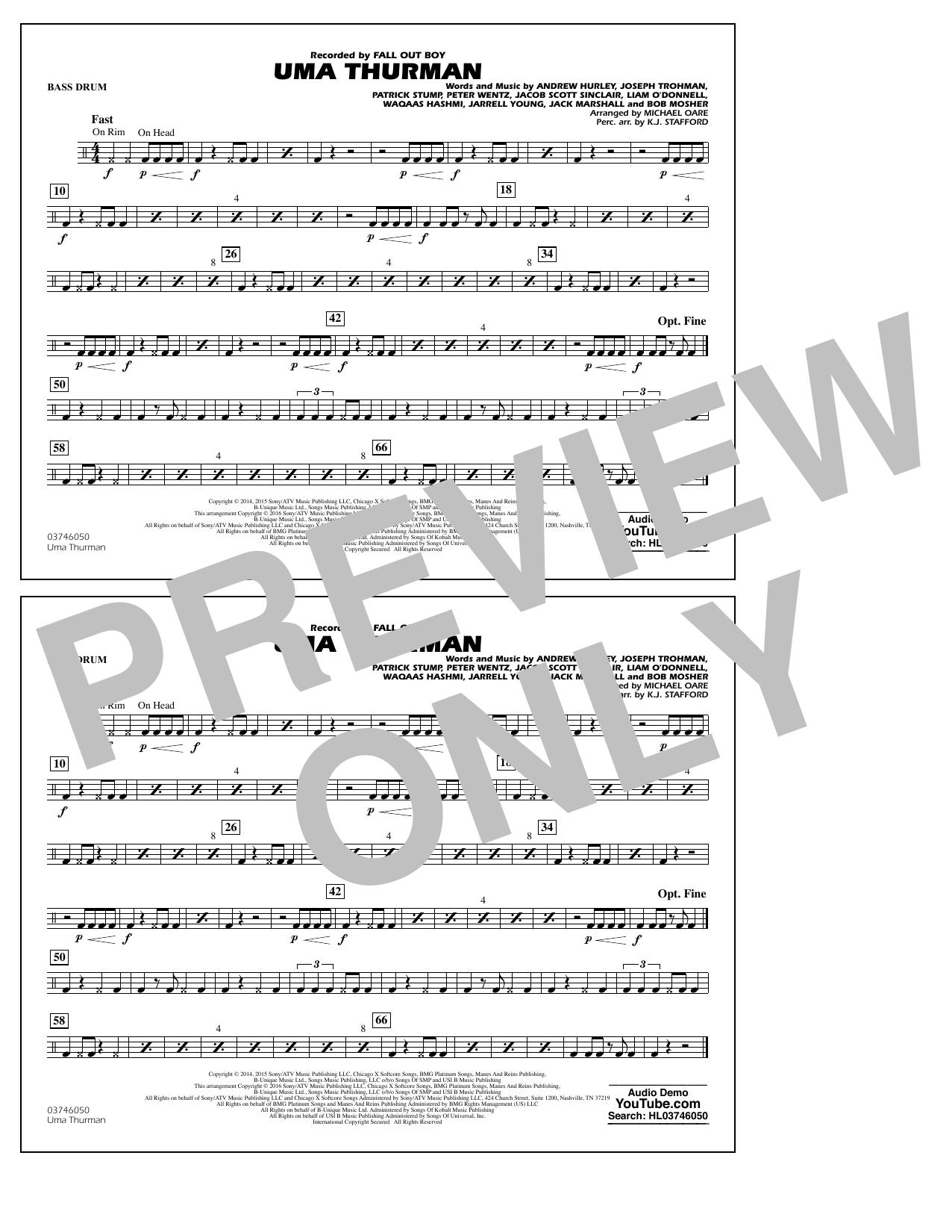 K.J. Stafford - Uma Thurman - Bass Drum