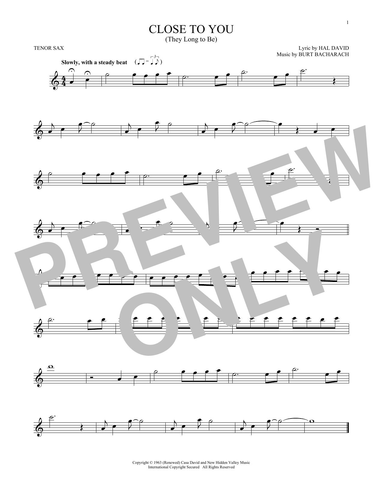 Sheet Music Digital Files To Print Licensed The Carpenters Digital