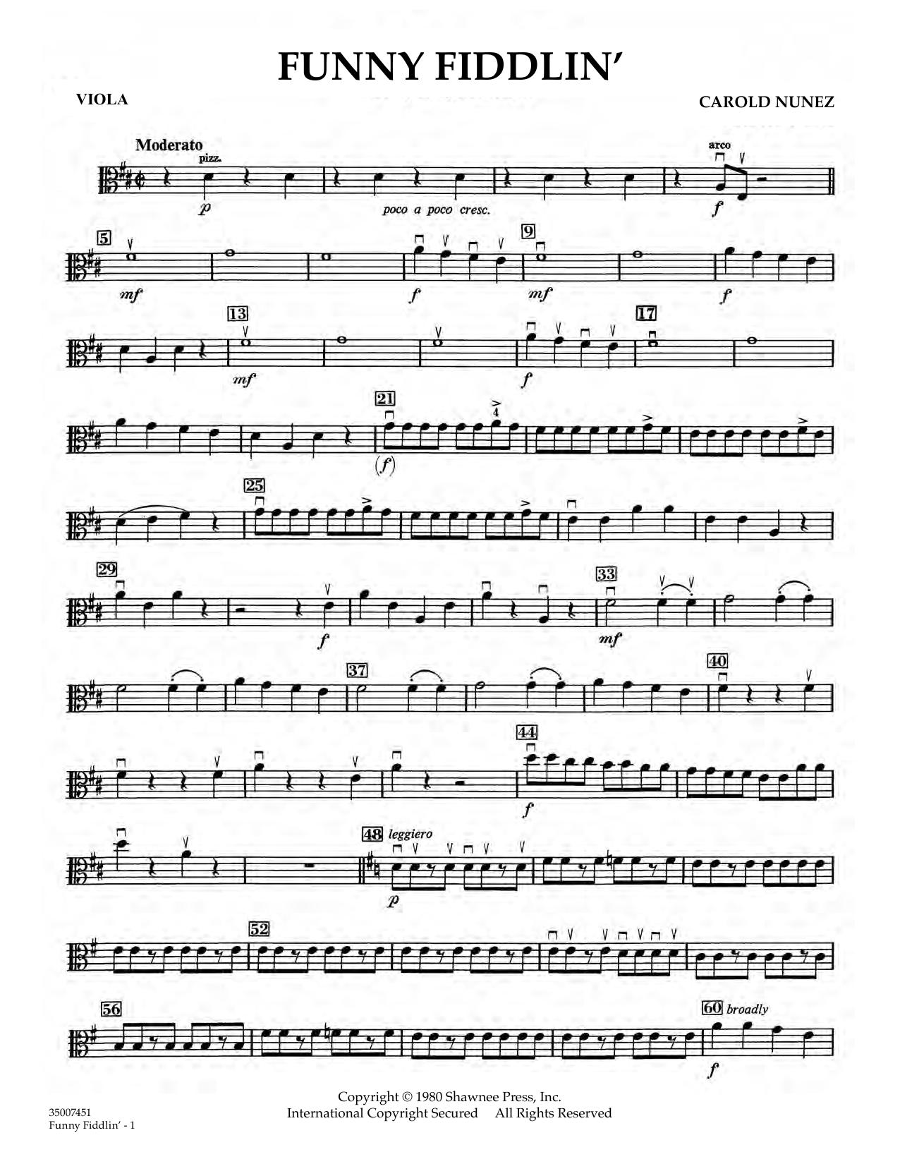 Funny Fiddlin' - Viola