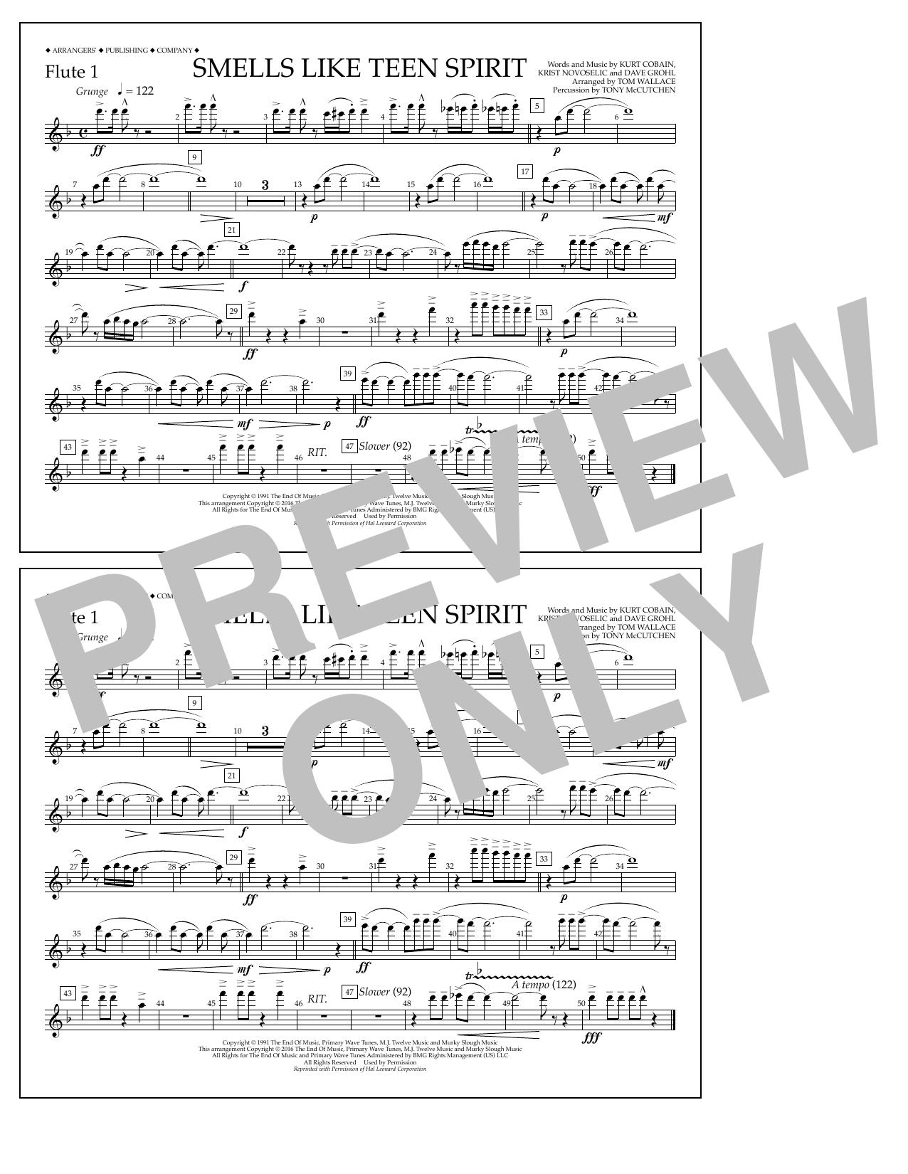 Nirvana - Smells Like Teen Spirit - Flute 1