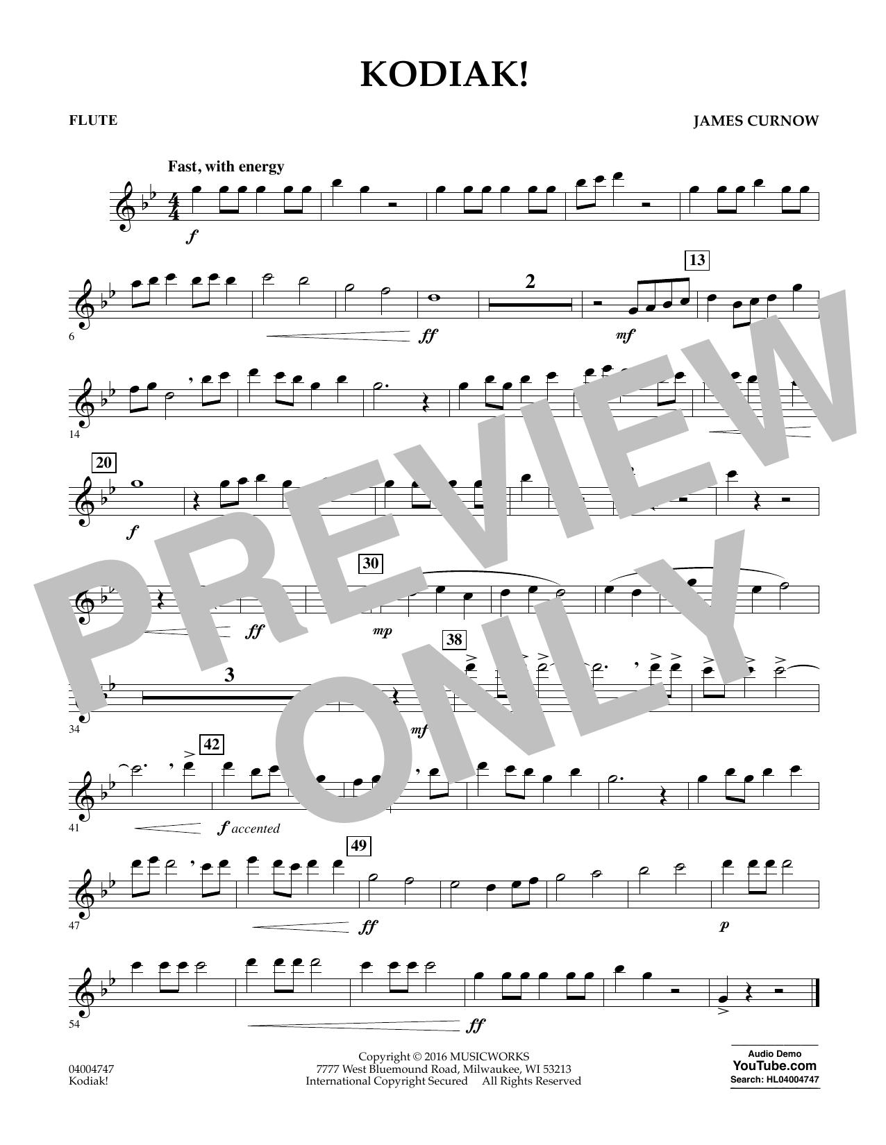 Kodiak! - Flute