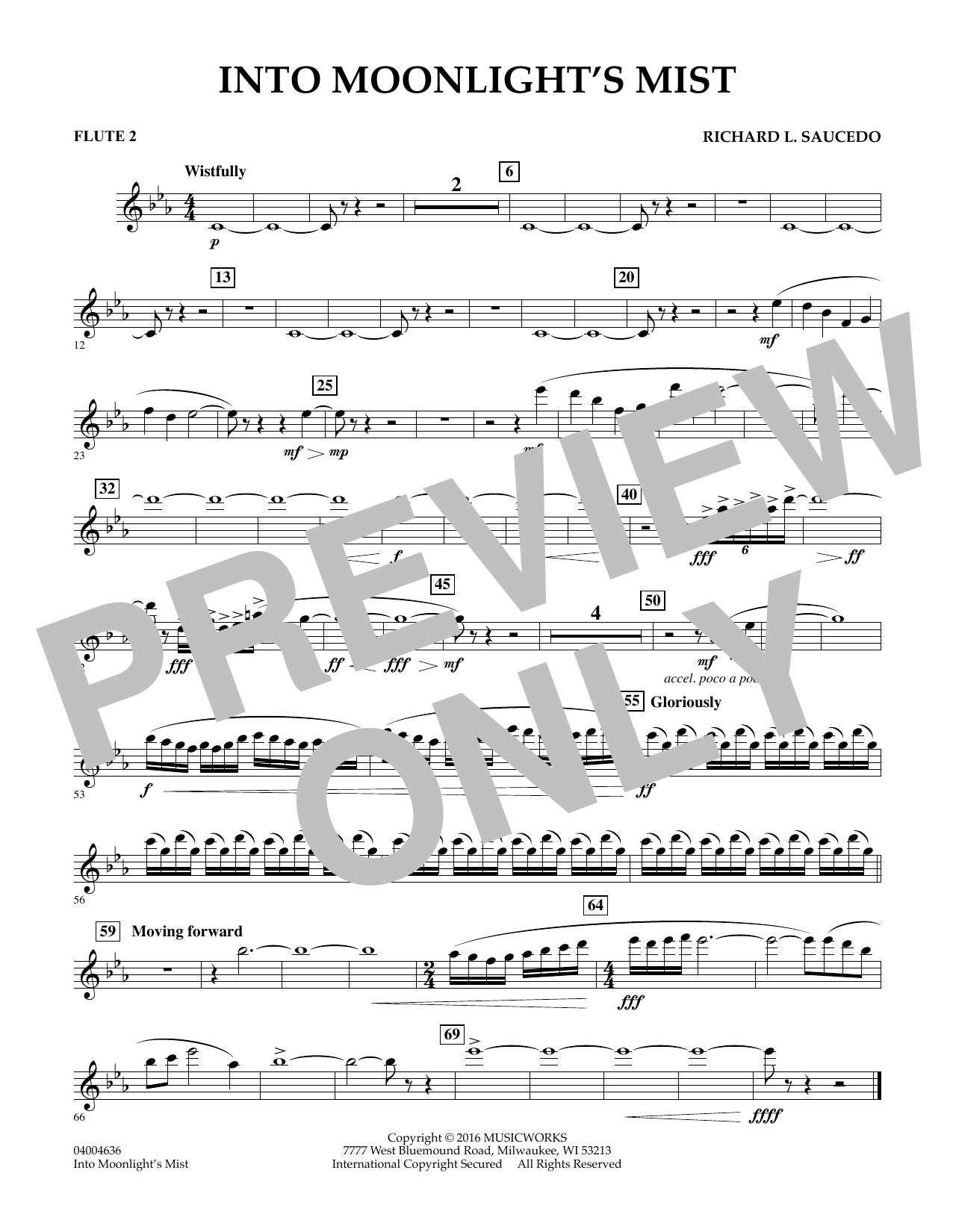 Into Moonlight's Mist - Flute 2