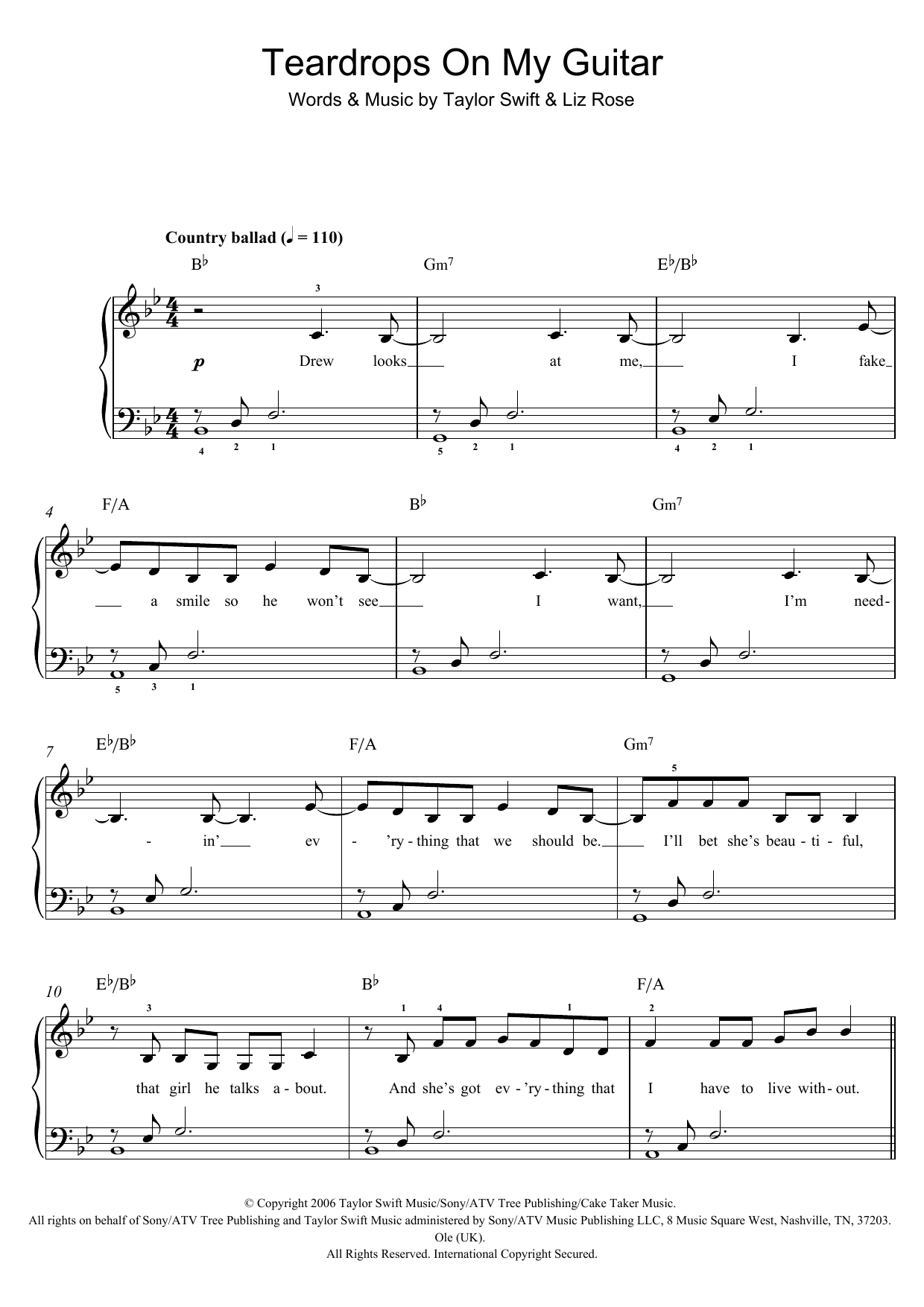 Sheet Music Digital Files To Print Licensed Liz Rose Digital Sheet