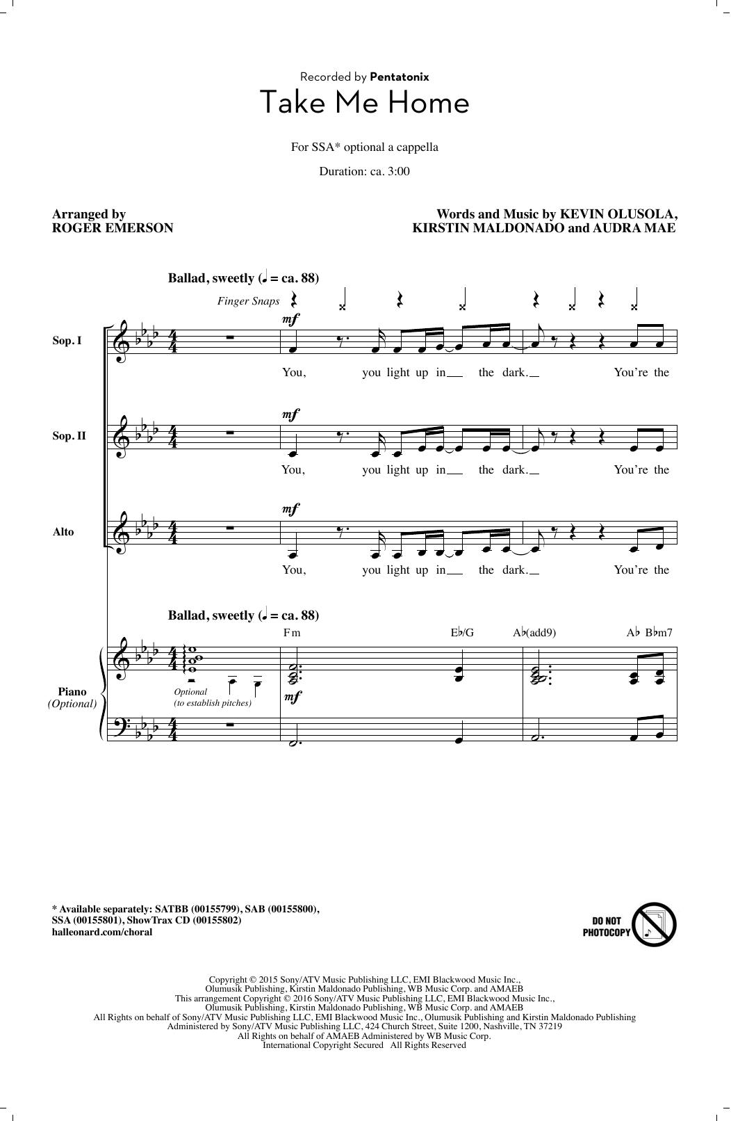 Kirstin Maldonado - Take Me Home
