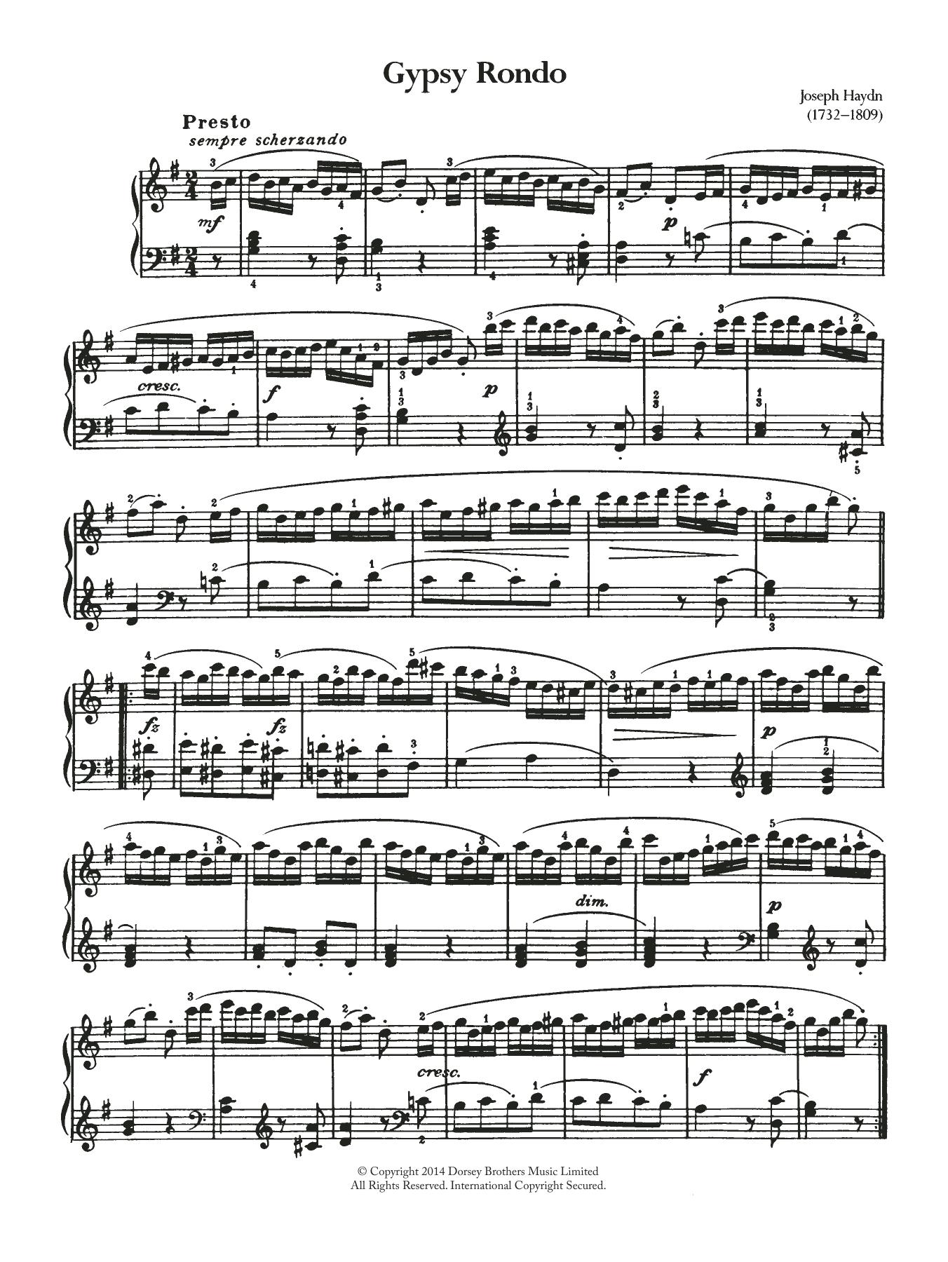 George Frideric Handel - Gypsy Rondo