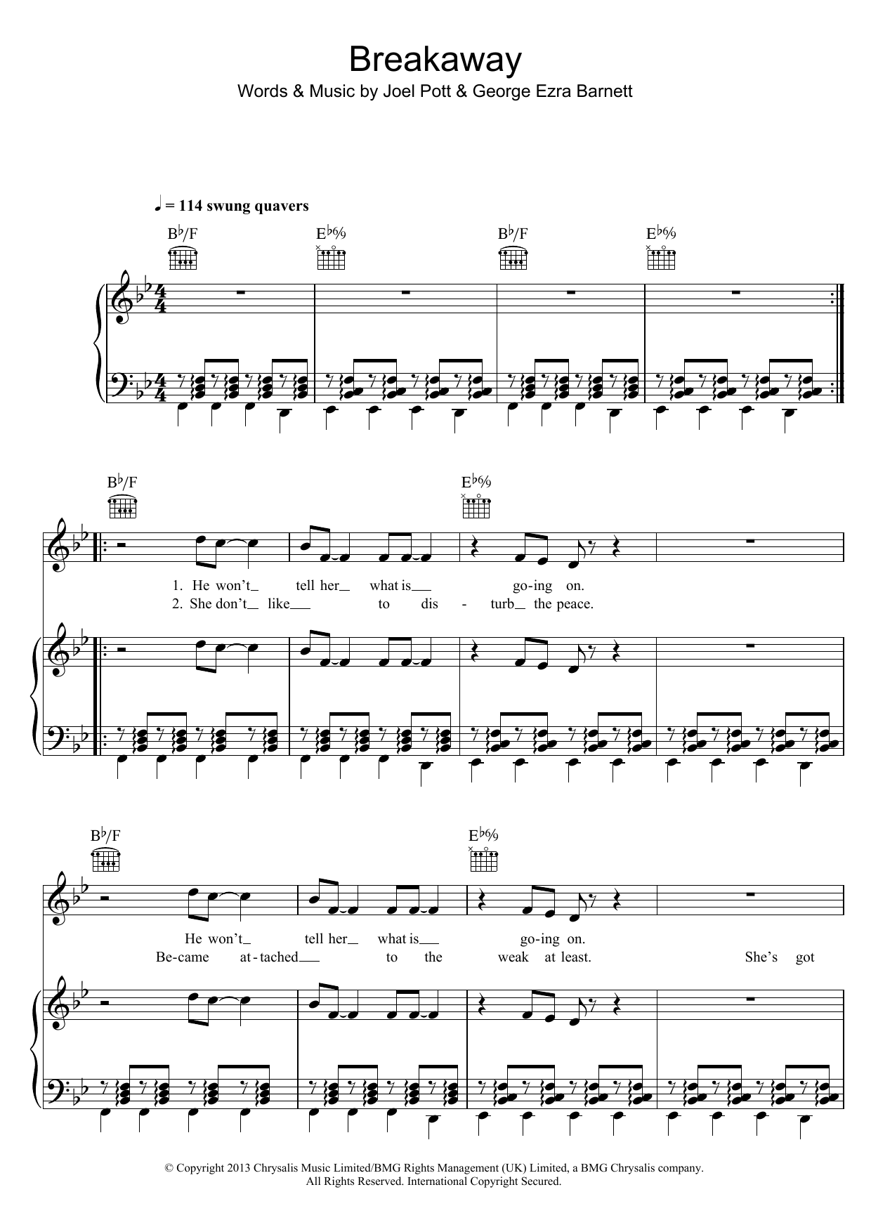 George Ezra - Breakaway