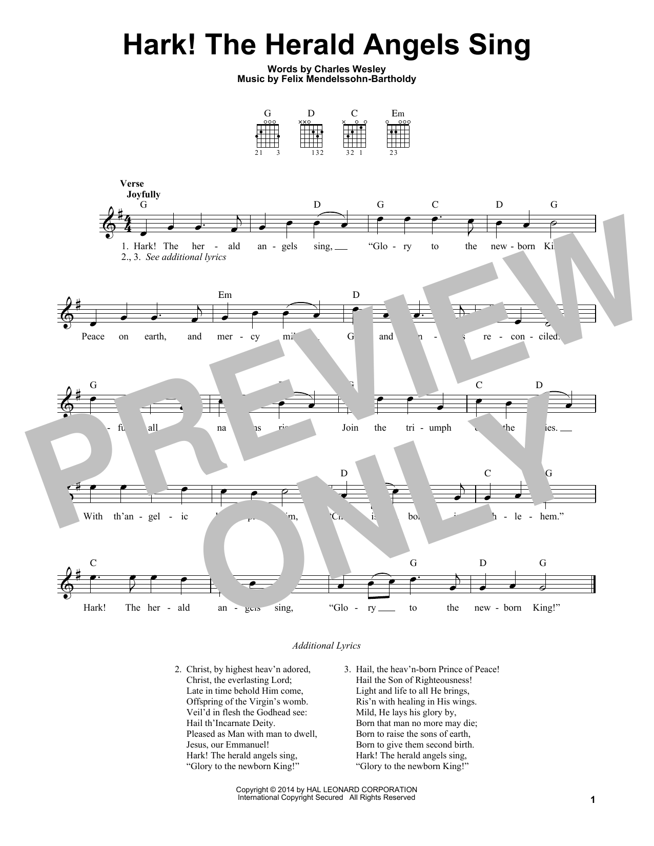 Charles Wesley - Hark! The Herald Angels Sing